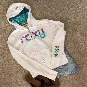 Roxy zip up hoodie